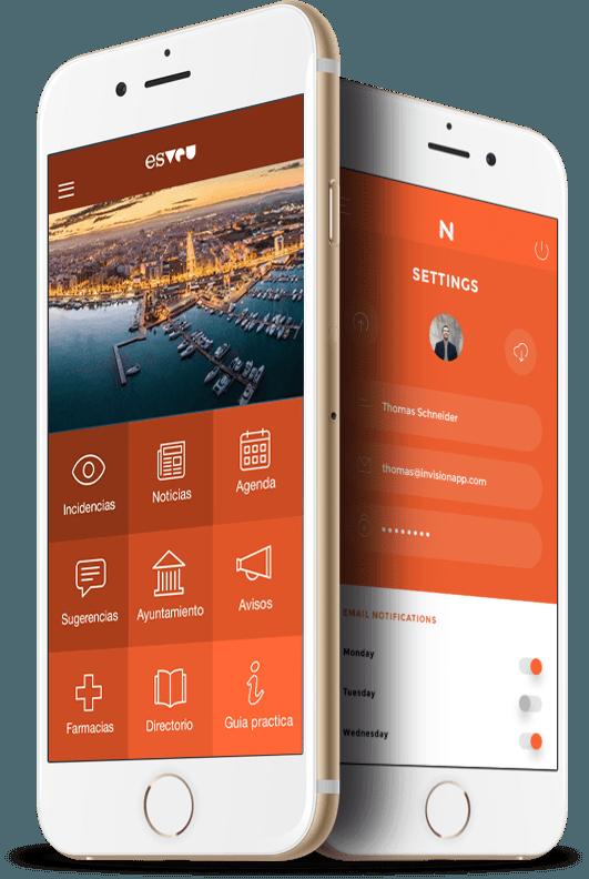 Referente como aplicación móvil para ayuntamientos