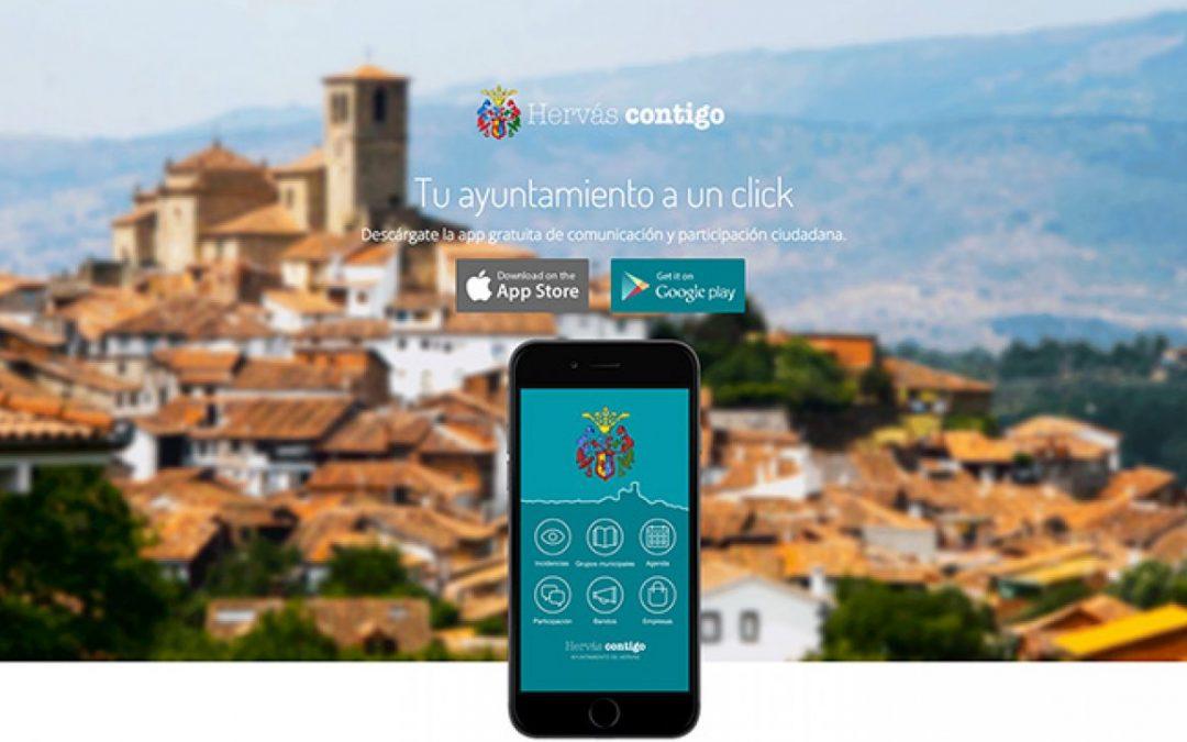 El ayuntamiento de Hervás pone en marcha la aplicación HERVÁS CONTIGO